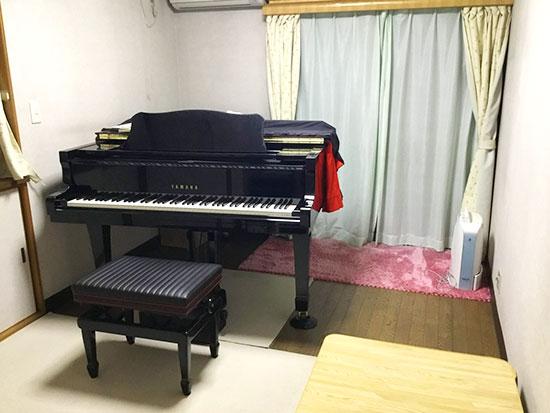 NAGAMIピアノ教室のレッスン室の写真